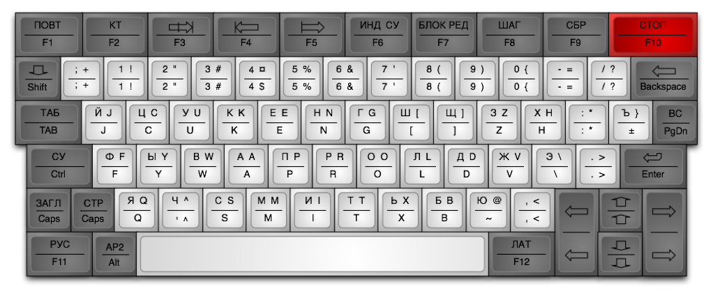 """Эмулятор ПК """"Электроника БК 0010"""""""